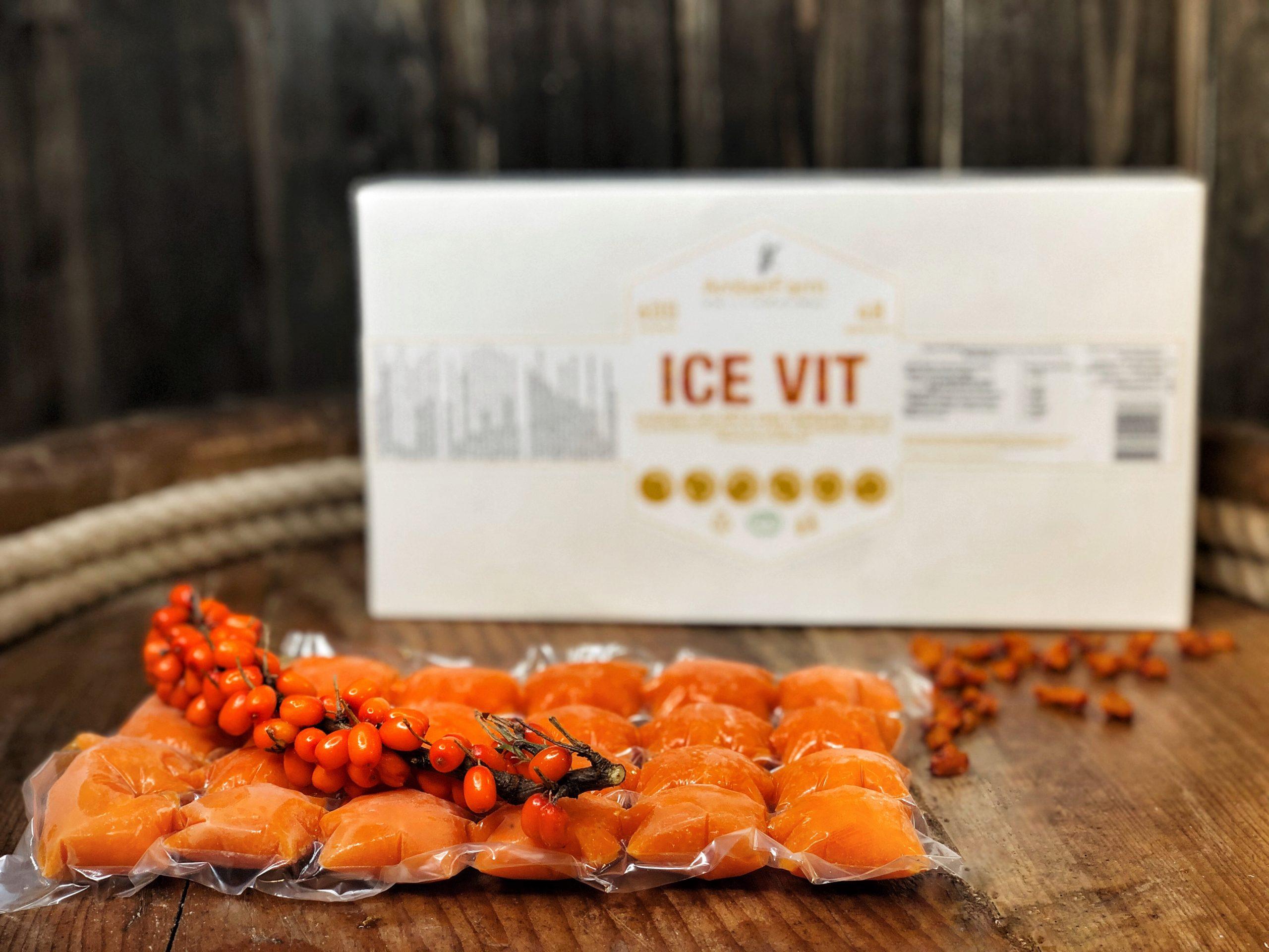 ICE VIT saldēta smiltsērkšķu sula